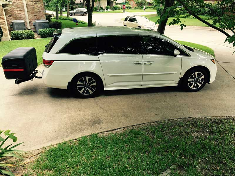 Honda Odyssey with StowAway MAX Cargo Carrier