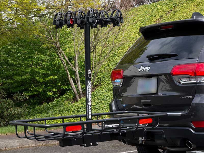 Jeep Grand Cherokee with StowAway Bike & Cargo Rack