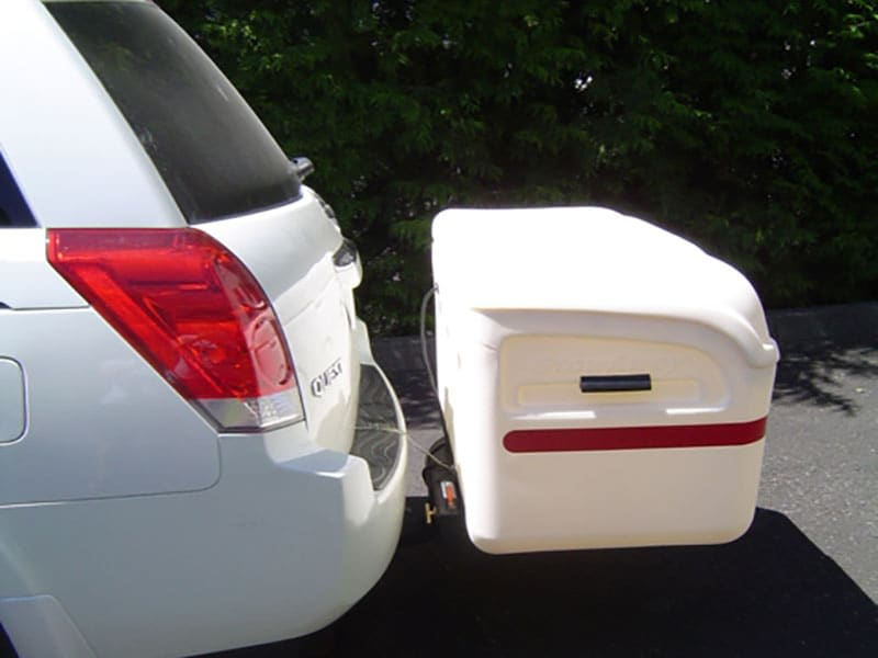Nissan Quest with StowAway MAX Cargo Box