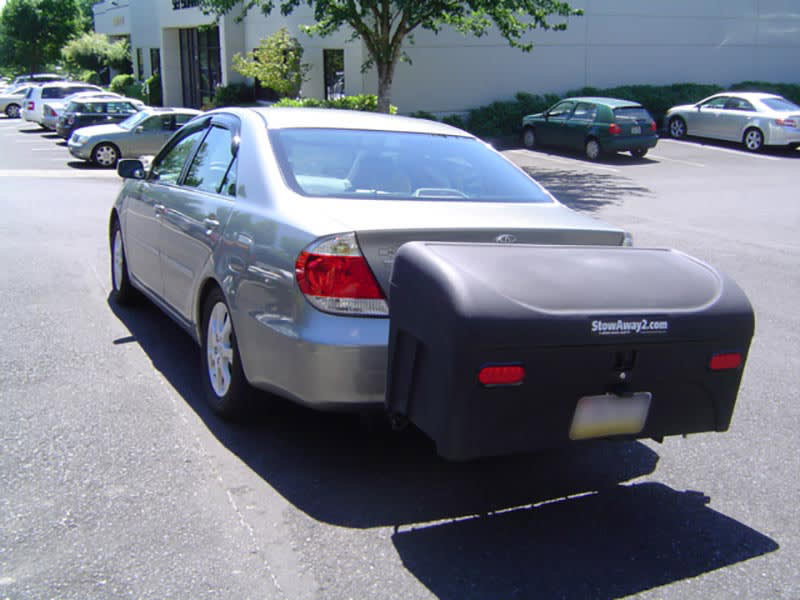 Toyota Camry with StowAway Standard Cargo Carrier