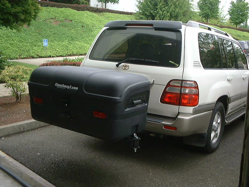 Toyota Land Cruiser with StowAway MAX Cargo Carrier