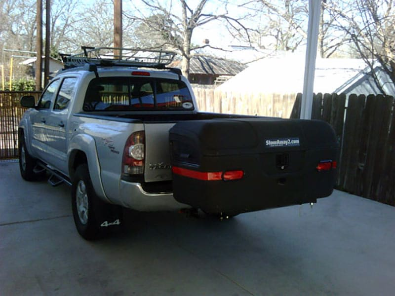 Toyota Tacoma with StowAway MAX Cargo Carrier