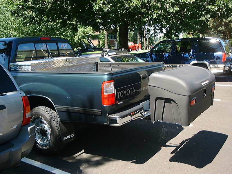 Toyota Tacoma with StowAway Standard Cargo Carrier