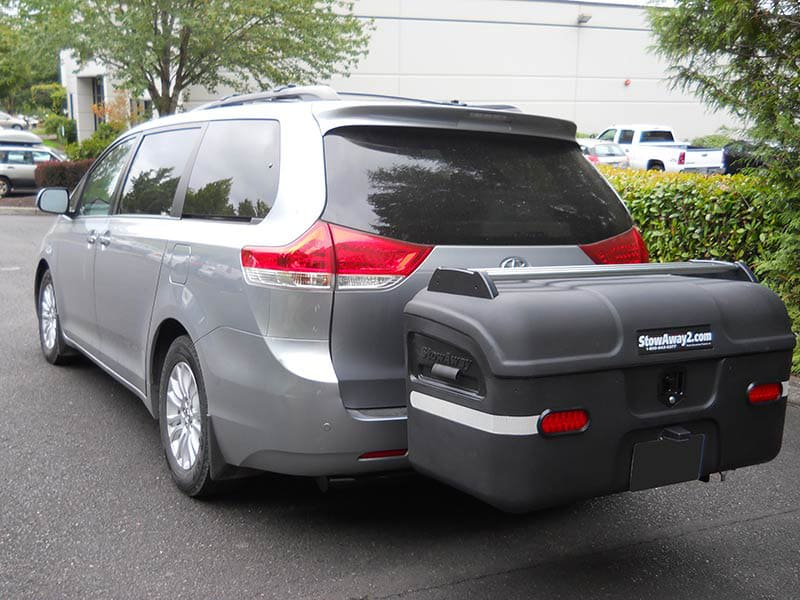 Toyota Sienna with StowAway MAX Cargo Carrier