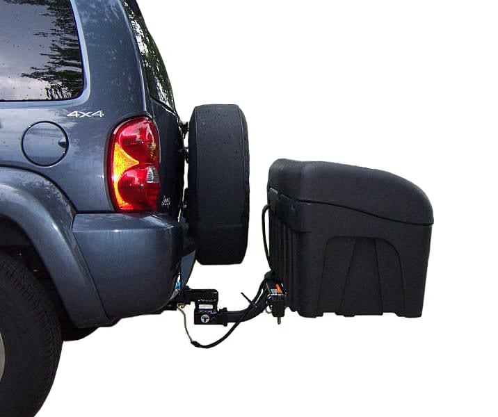 StowAway Carrier spare tire clearance