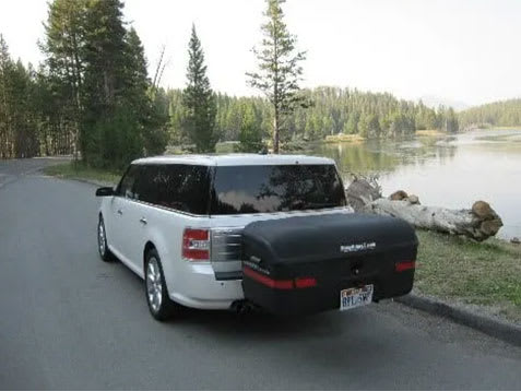max carrier on ford flex at yellowstone national park