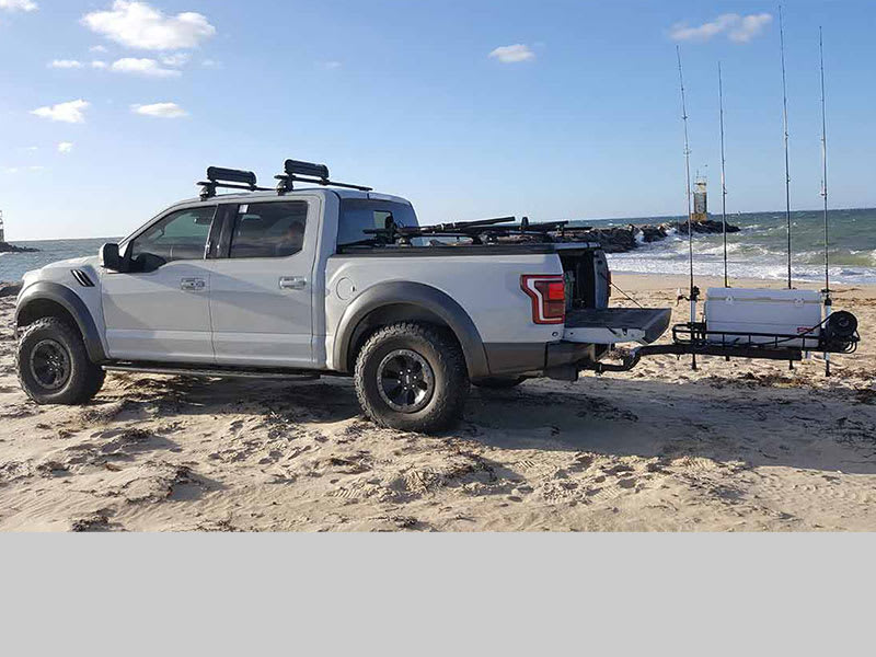 Ford Ranger Pick up Truck with Stowaway Rod Rack