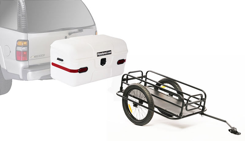 hitch cargo carriers versus trailers
