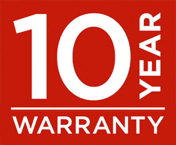 StowAway products are backed by a 10-year warranty