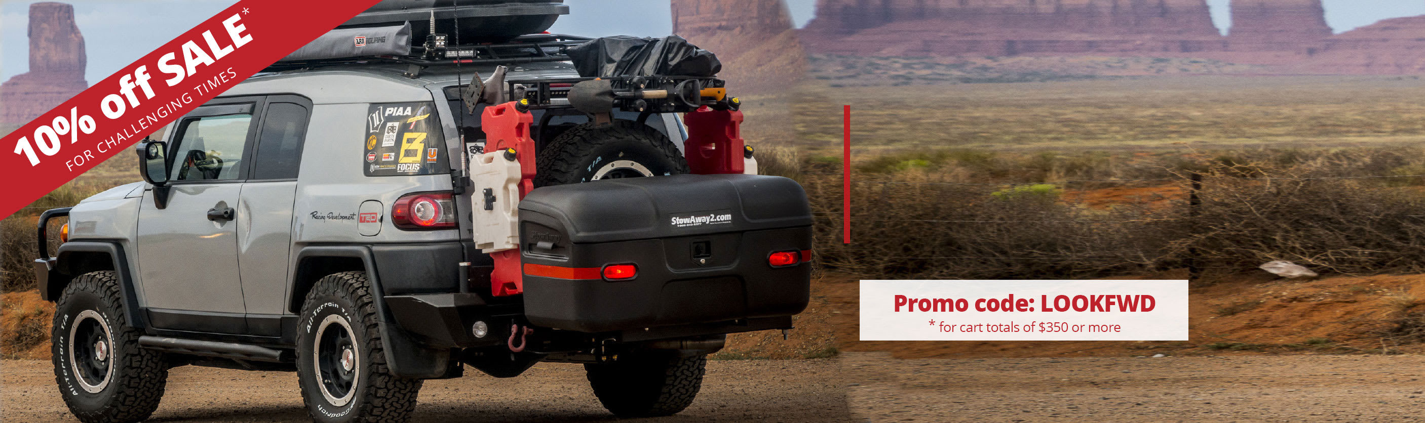 Hitch Cargo Box and Carrier solutions for your summer road trips.