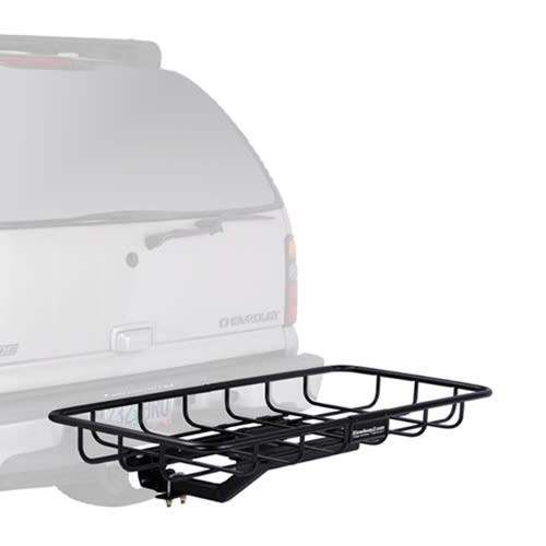 hitch cargo rack on fixed frame