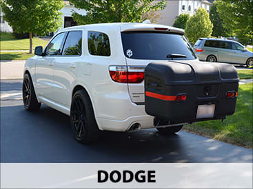 StowAway MAX Cargo Carrier on Dodge
