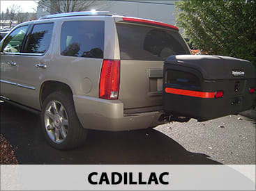 StowAway MAX Cargo Carrier on Cadillac