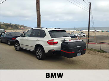 StowAway MAX Cargo Carrier on BMW