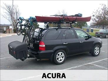 StowAway Standard Cargo Carrier on Acura