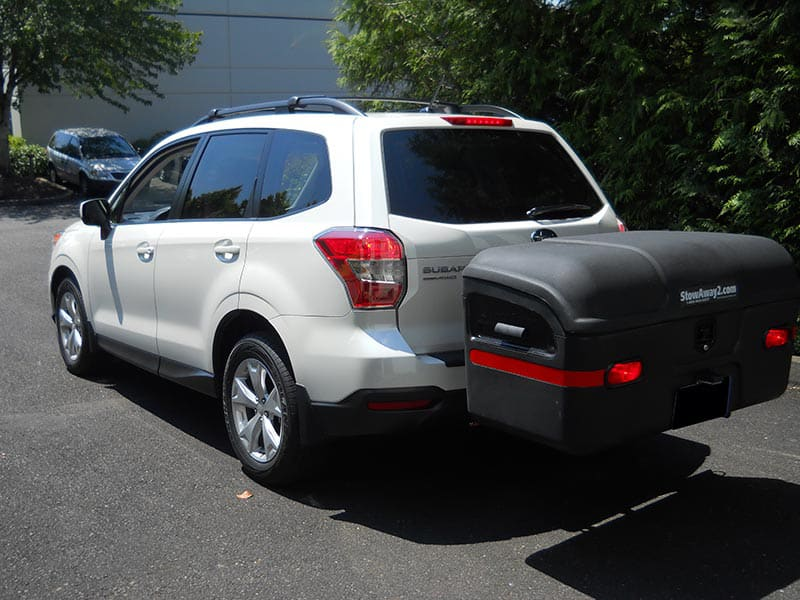 Subaru Forester with StowAway MAX Cargo Carrier