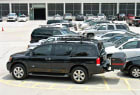 Nissan Armada with StowAway Max Hitch Cargo Carrier