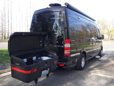 Airstream Interstate Van with StowAway Max Cargo Box