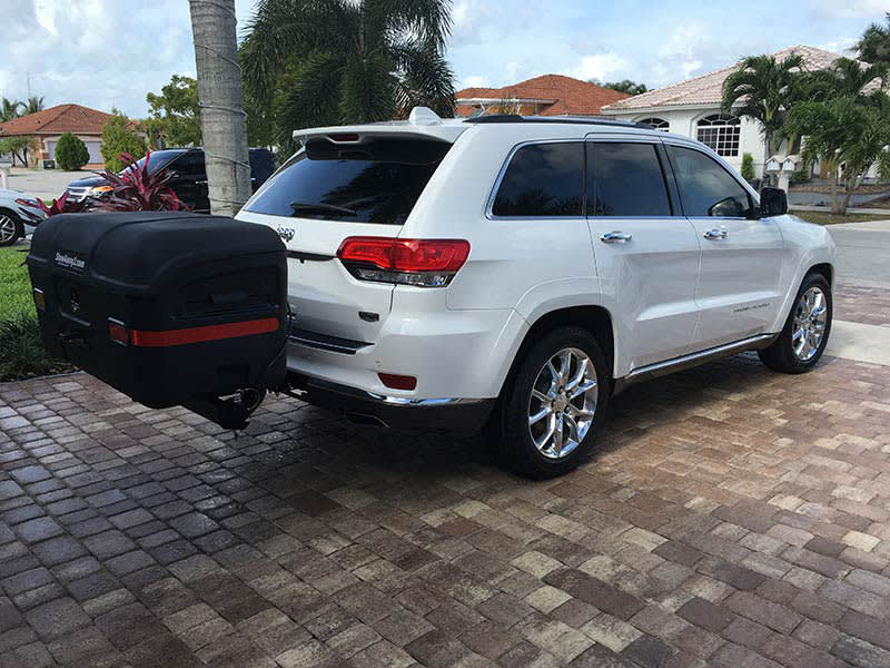 Jeep Grand Cherokee with StowAway MAX Cargo Carrier