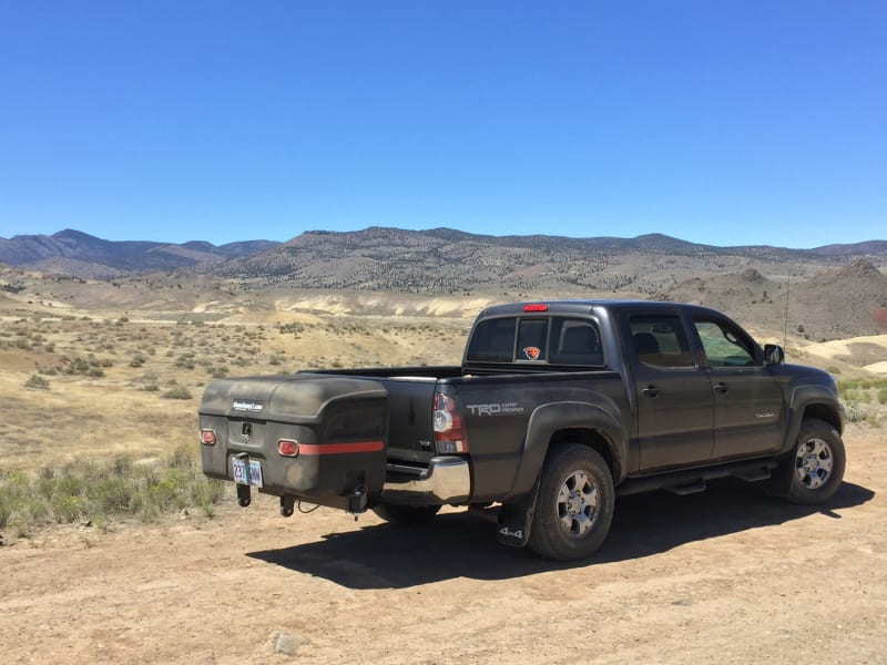 Toyota Pick-up StowAway Max Hitch Cargo Box in Eastern Oregon