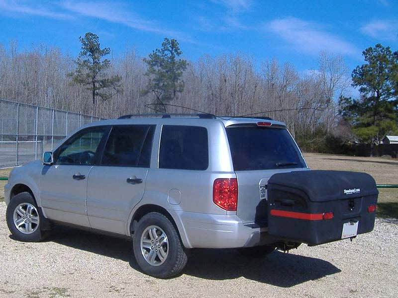 Honda Pilot with StowAway MAX Hitch Cargo Carrier