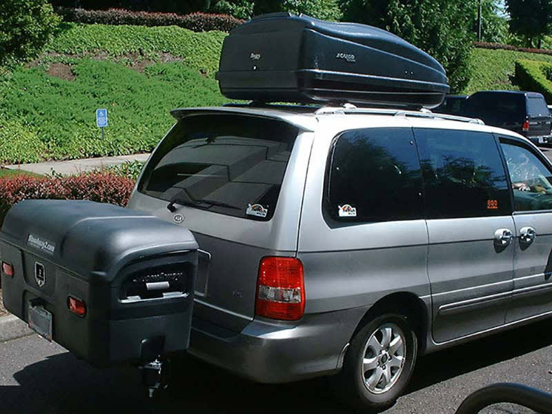 Kia Sedona with StowAway MAX Cargo Carrier