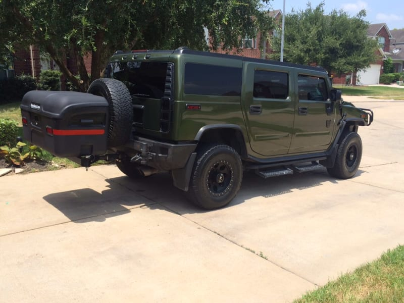 Hummer StowAway Max Cargo Box