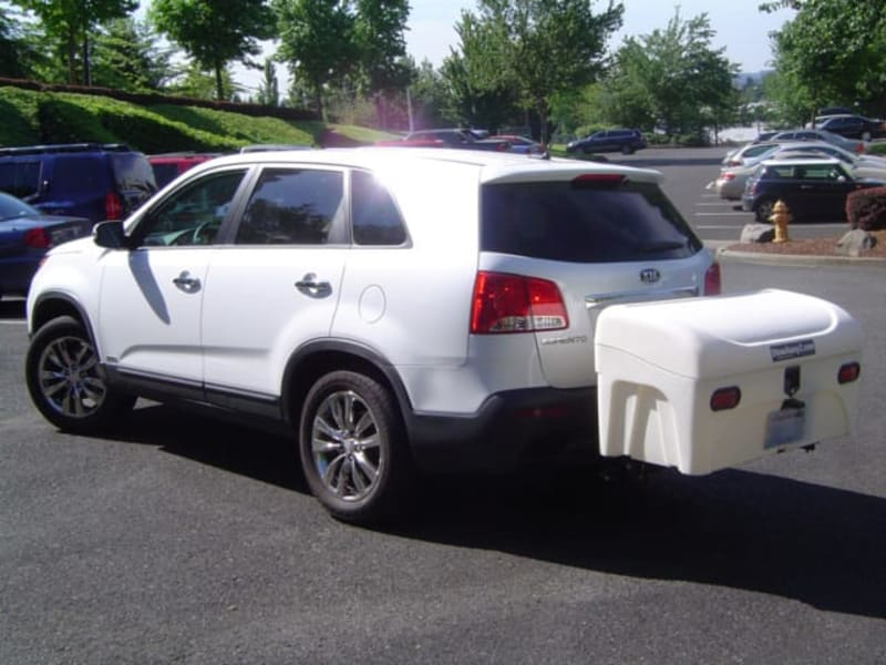 Kia Sorrento StowAway Standard Cargo Box White