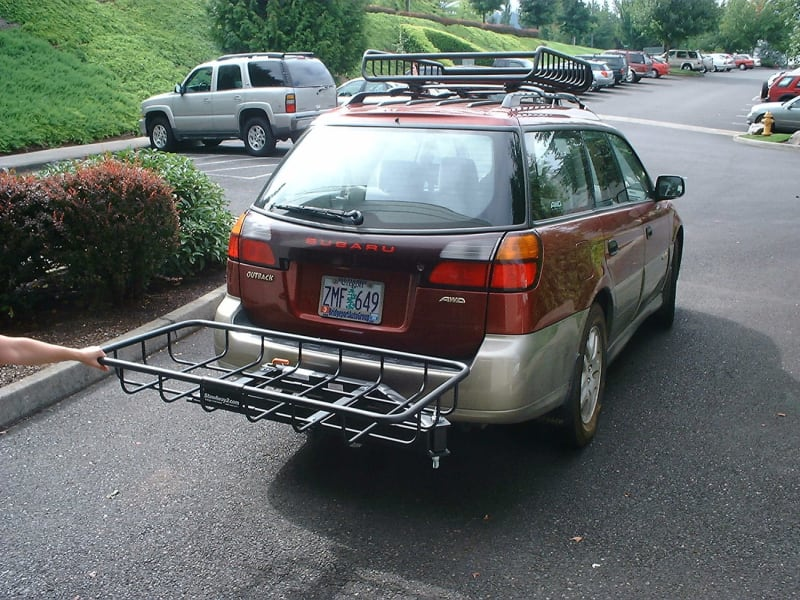 Subaru Outback Hitch Cargo Rack