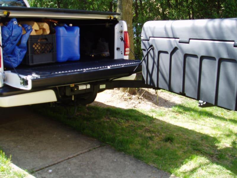 StowAway Standard Cargo Box on Dodge Pickup Truck