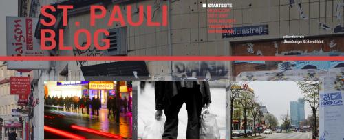 Screenshot Startseite St. Pauli News Blog