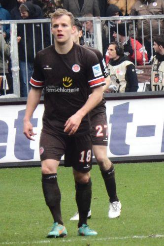 Lennart Thy als Spieler vom FC St. Pauli; Source: Wikimedia, Author: Northside