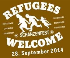 Flyer Schanzenfest 2014