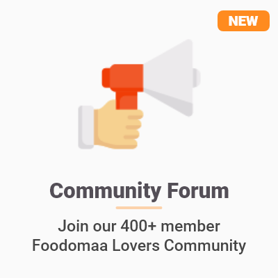 Foodomaa™ Community Forum