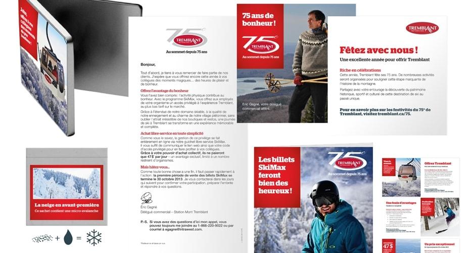 Tremblant Skimax campaign