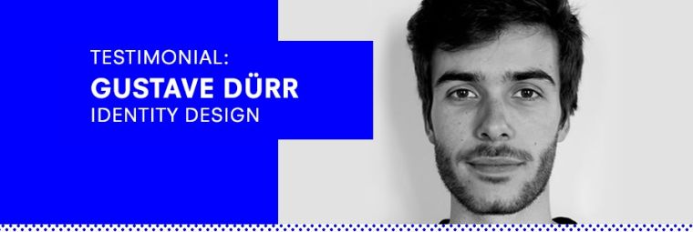 Testimonial: Gustave Dürr, Year 5, Identity Design