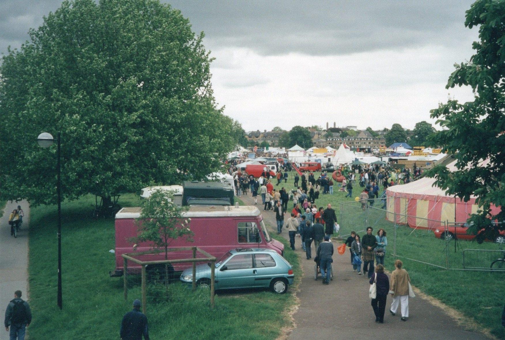 View from Victoria Avenue bridge circa 2002