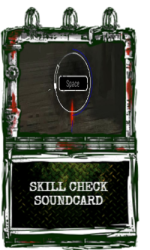 Skill Check Soundcard.