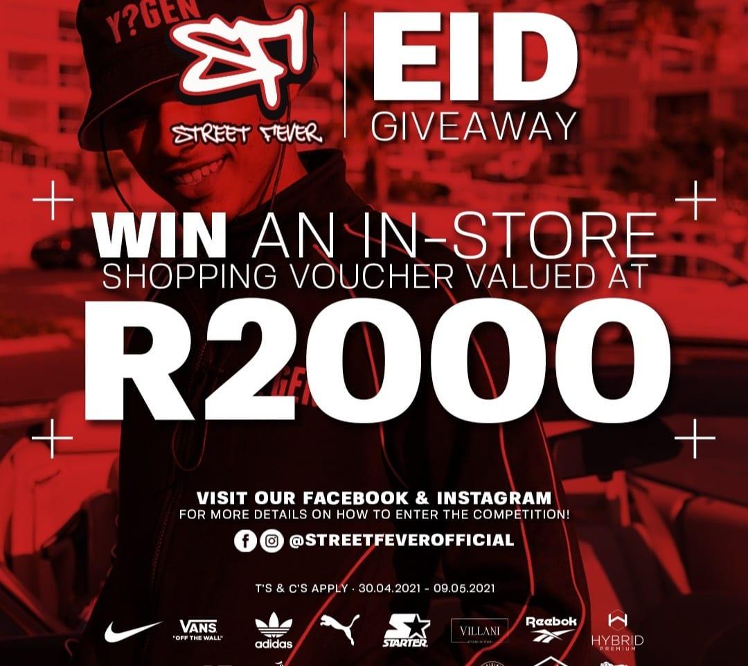 R2000 Eid Giveaway