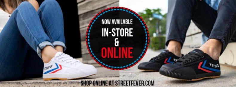 Street Fever x Feiyue