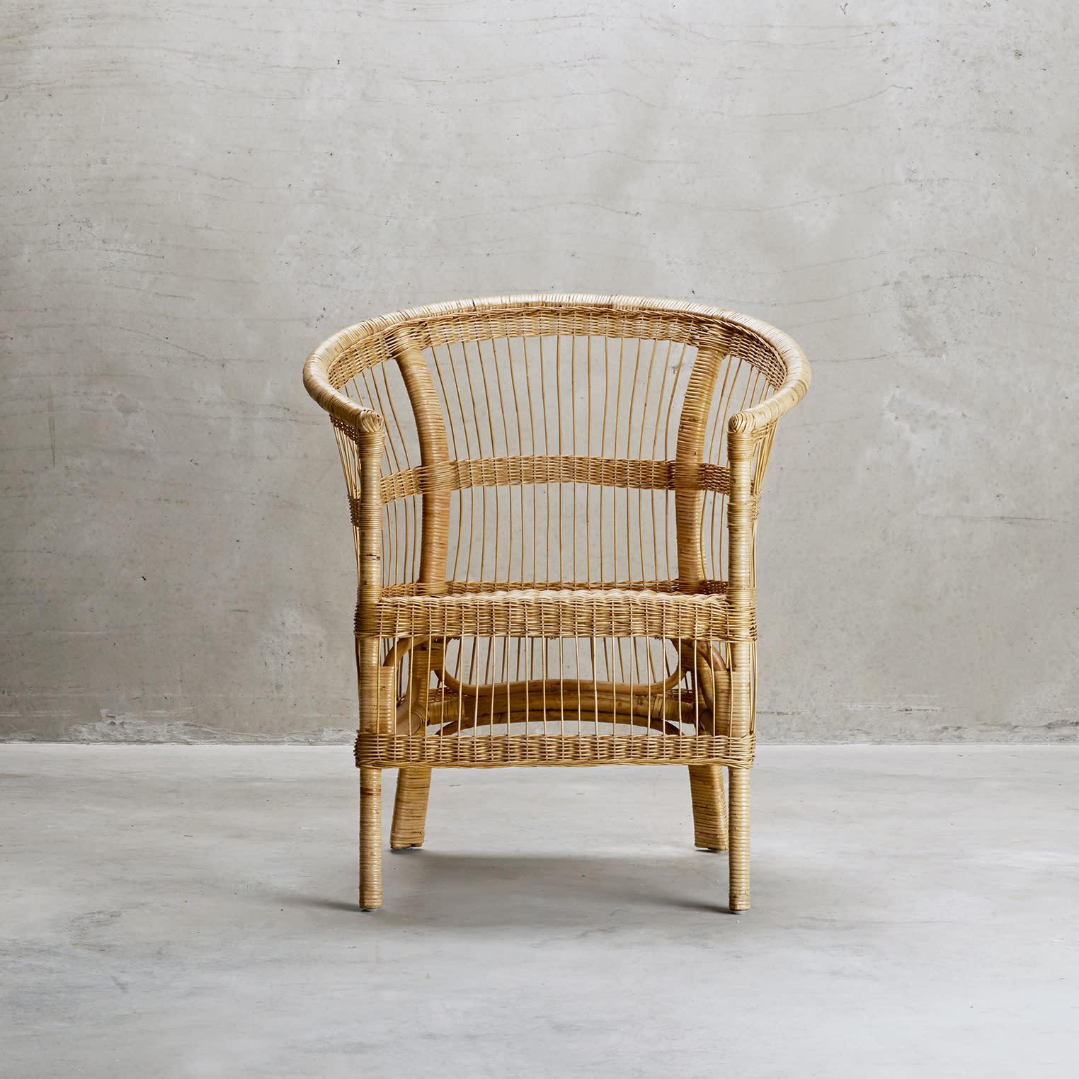 Trouva  Palma Rattan Chair c4dd0349a1488