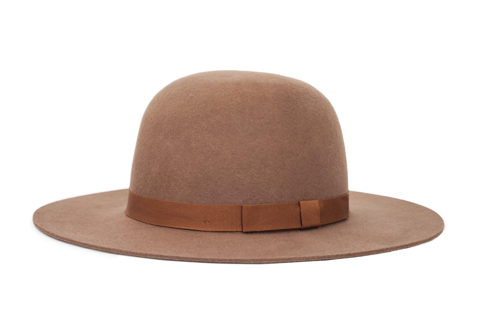 Trouva  Dark Tan Colton Hat bd68f04bb79