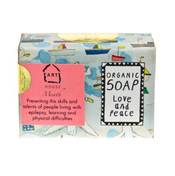 ARTHOUSE Meath Love Peace Organic Soap