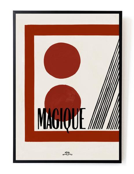 Hotel Magique Casette Print