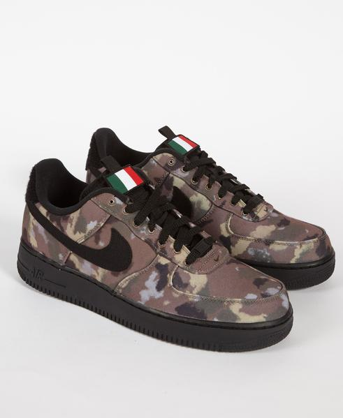 sale retailer fa483 93eba Nike Air Force 1 07 Low Country Camo Italy Shoe