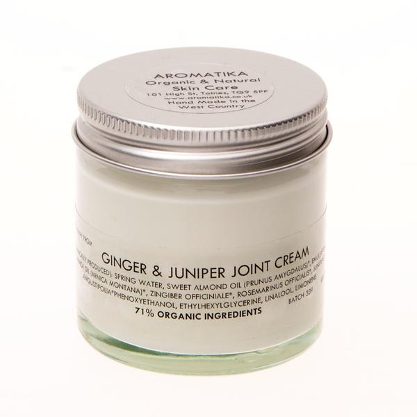 Aromatika 58ml Ginger Juniper Joint Cream