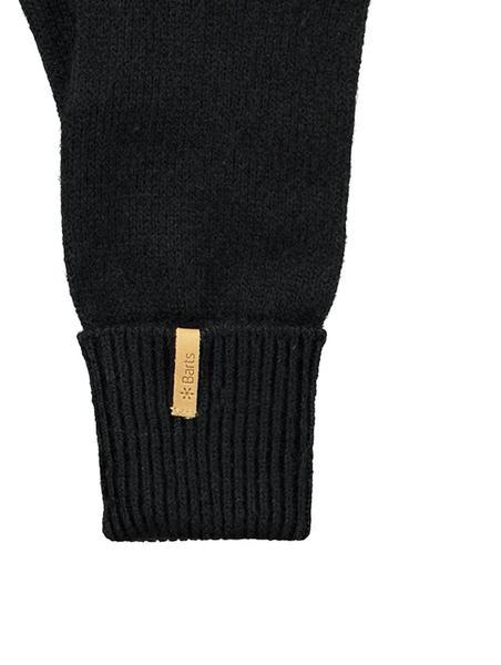 Barts  Black Fine Knitted Gloves