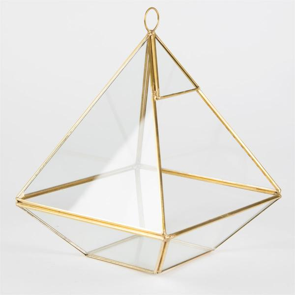 Workshop SY1 Glass Pyramid Terrarium