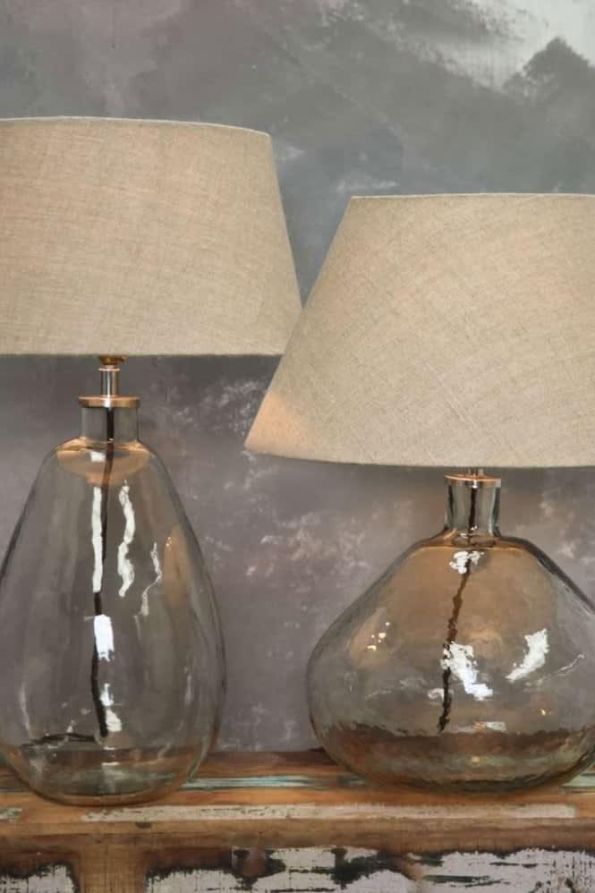 Nkuku Baba Glass Lamp