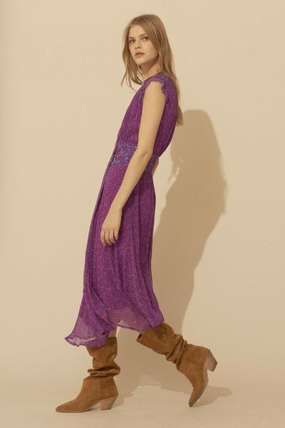 Bash Fuschia Ba Sh Meryl Dress